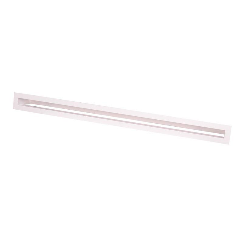 Krbová mřížka AERO 38x6cm - bílá