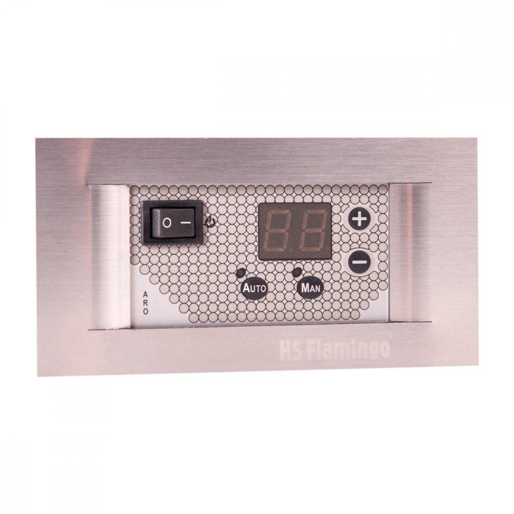 TATAREK regulátor otáček ventilátoru RT-03C ARO s teplotním čidlem - titanový