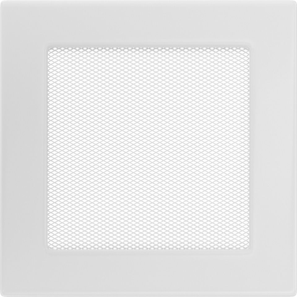 Krbová mřížka 17x17 BASIC bílá
