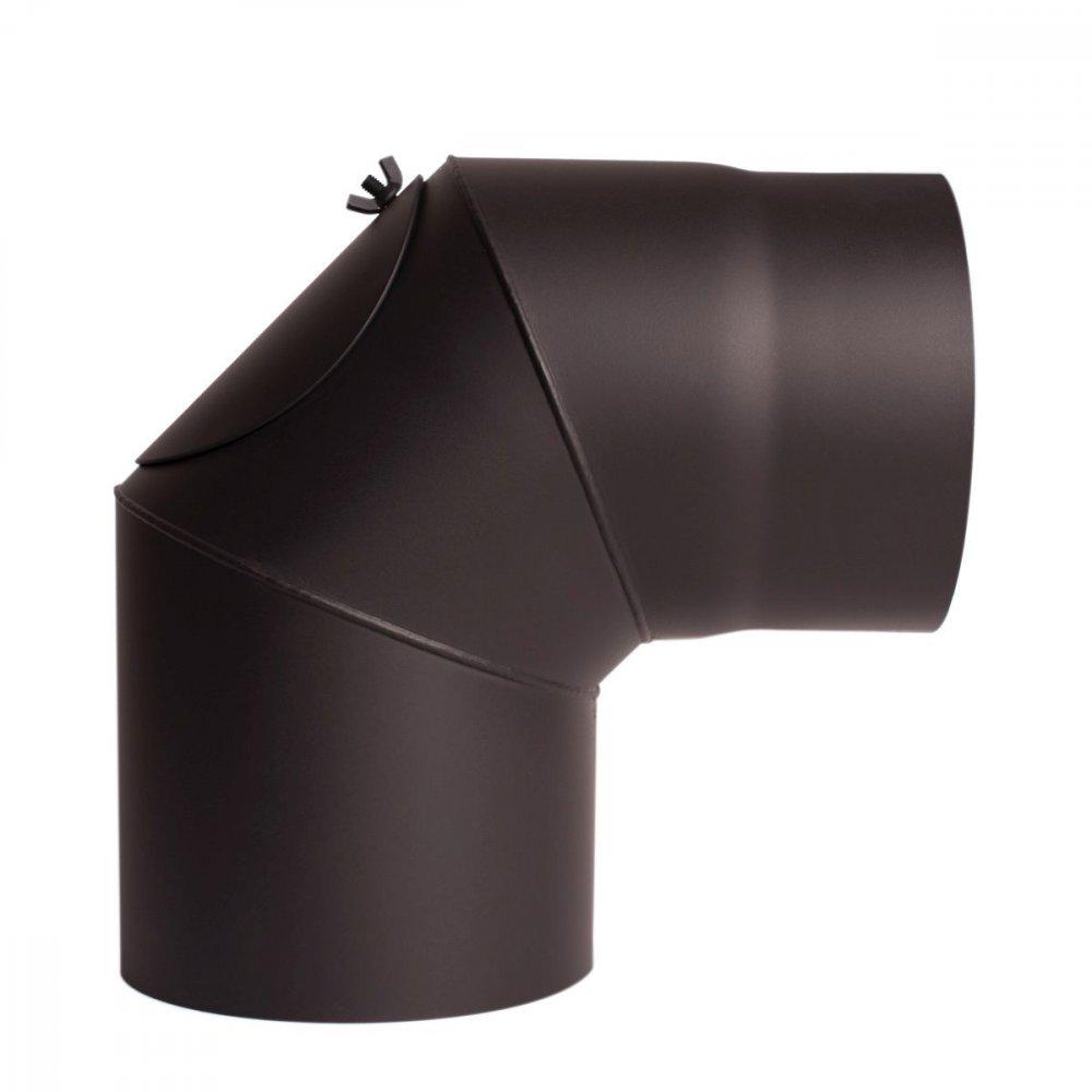Koleno 90/200mm/1,5mm s čistícím otvorem